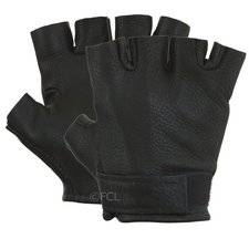 Fingerless Deerskin Gloves