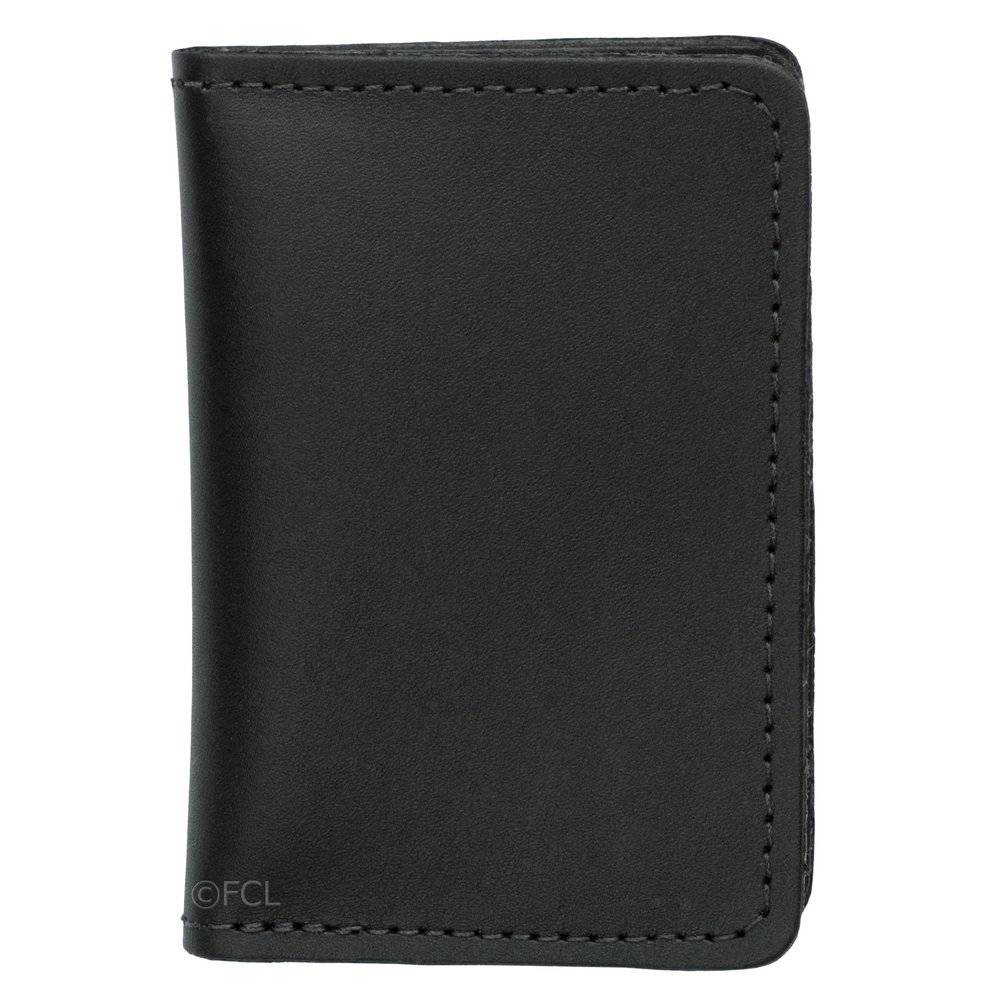 Leather Double Window ID Case