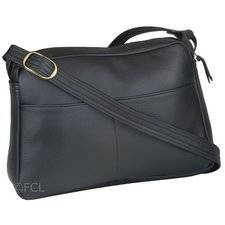 Leather Monarch Handbag