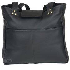 Small Leather Tote Bag