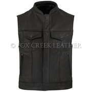 Leather Rebel Vest