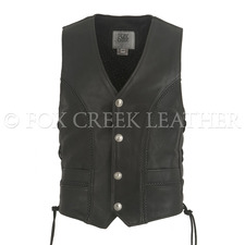 Semi-Perforated Full Back Vest