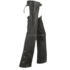 Deluxe Lined Leather Chaps
