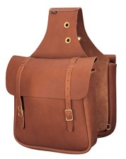 Chap Leather Saddle Bags