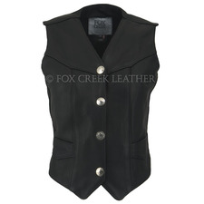 Laced Nickel Motorcycle Vest