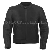 BlackRock Leather Motorcycle Jacket