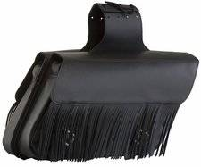 Fringed Large Slant Saddlebags