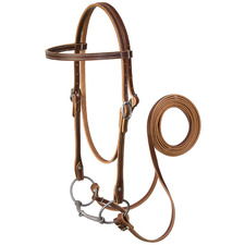 Harness Leather Browband Bridle Set