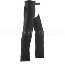 Classic Leather Motorcycle Chaps