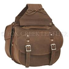 Deluxe Brown Pony Express Saddlebag