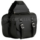 Deluxe Black Pony Express Saddlebag