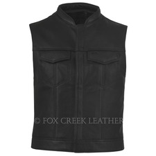 Leather Rebel Vest II