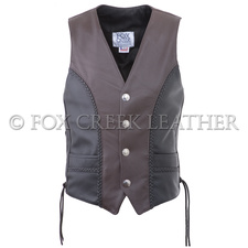 Braided Two-tone Nickel Vest