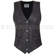 Fox Creek Leather Women's Vixen Vest on Sale