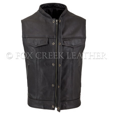 Zippered Rebel Vest