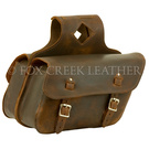 Brown Throwover Saddlebags