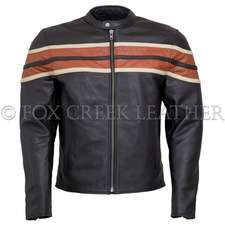Triple Striped Vented Racing Jacket