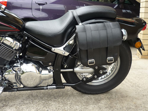 2011 Yamaha V-Star 650 Custom Saddlebags