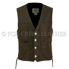 Brown Buffalo Nickel Vest