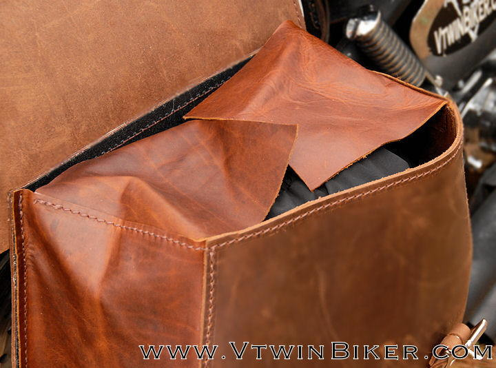 Open Saddlebags