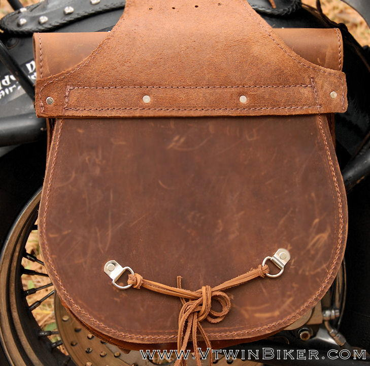 Back view of the saddlebags