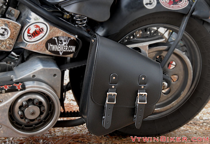 Leather Swing Arm Saddlebags