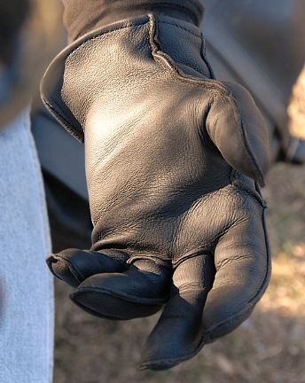 Deerskin Outseam Leather Gloves