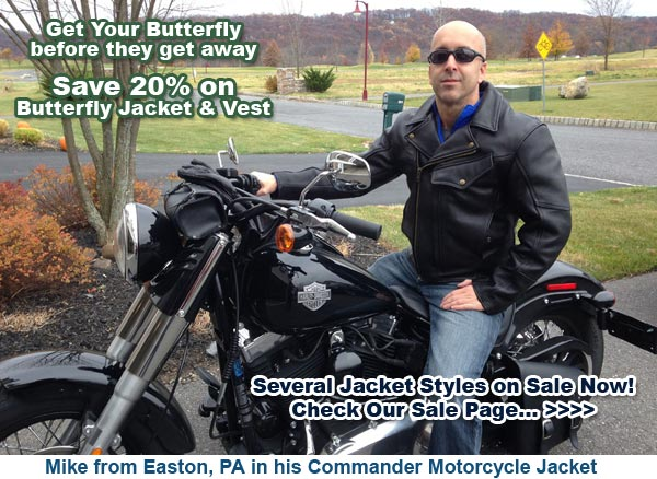 Mike from Easton, PA in his Commander Jacket