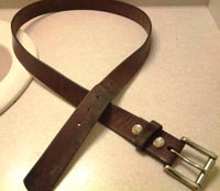 Fox Creek Leather  Belts