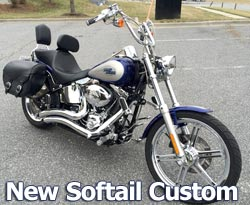 Doppler's New Softail Custom