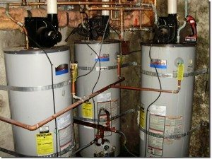 Tankless hot water heater installation job Seattle