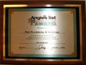 Top Seattle Plumber 2008