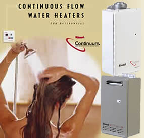 Continuous Flow Water Heaters from Fox Plumbing & Heating