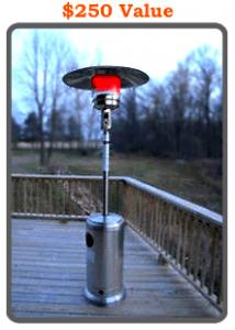 Outdoor heating element