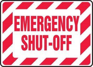 Shut-off