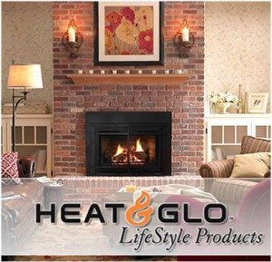 Gas fireplaces heating