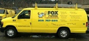 Fox's Green CNG Truck