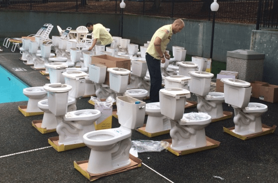 Installing Toilets