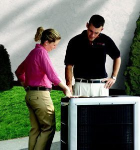 Air Conditioner outdoors