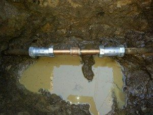 Pipe repaired by Matt