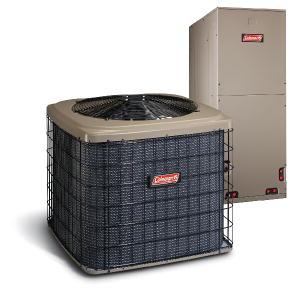 small heat pump & air handler