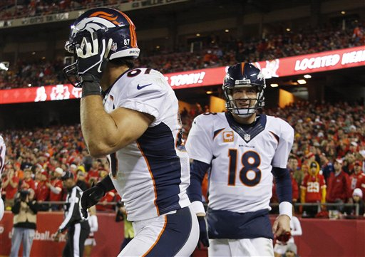 Peyton Manning , Eric Decker