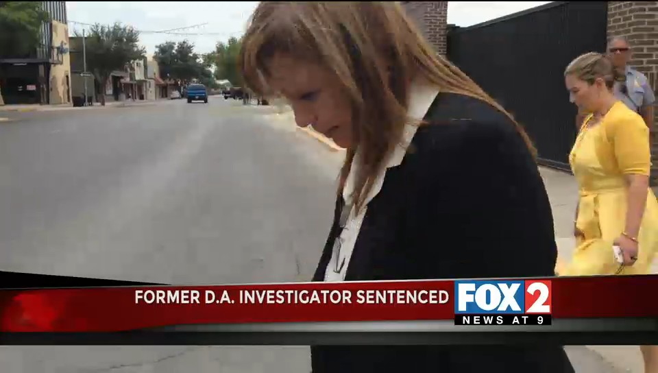 Former D.A. Investigator Aida Palacios Sentenced