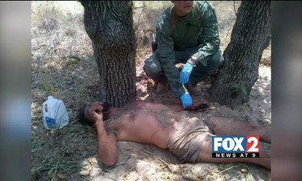 Borstar Agents, CBP Rescue Immigrant