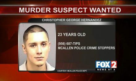 Third Suspect Sought For McAllen Murder