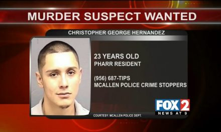 Second Arrest in McAllen Homicide, Third Suspect still Sought