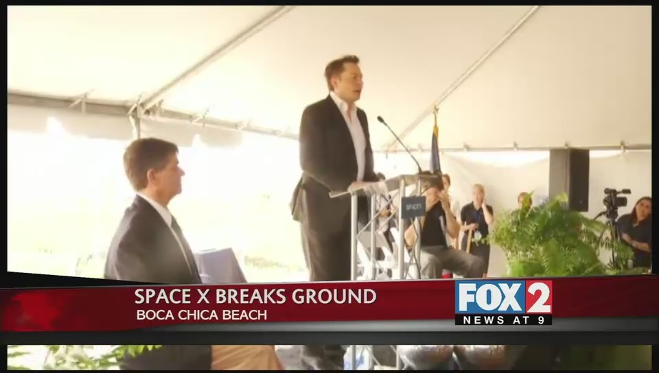 SpaceX Breaks Ground Boca Chica Beach