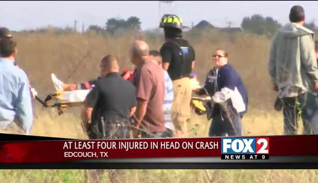 Four Injured in Edcouch Head-on Collision