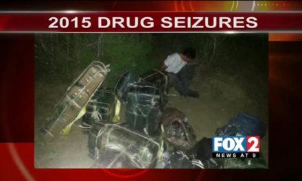 First Weekend of 2015 Busy for Border Patrol Drug Seizures