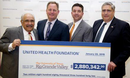UT-RGV School of Medicine Receives $2.88 Million Grant to support Local Healthcare